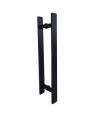 Puxador para Porta de vidro Barra Chata Maciço 40cm X 30cm