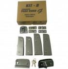 Kit - Porta Dupla Pivotante