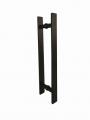 Puxador para Porta de vidro Barra Chata Maciço 50cm X 40cm